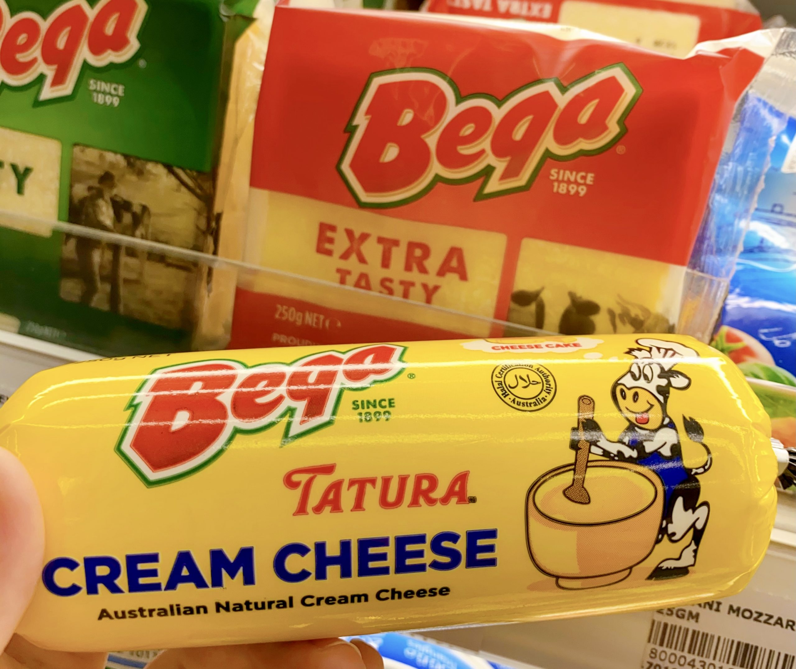 tatura cream cheese beqa extra tasty